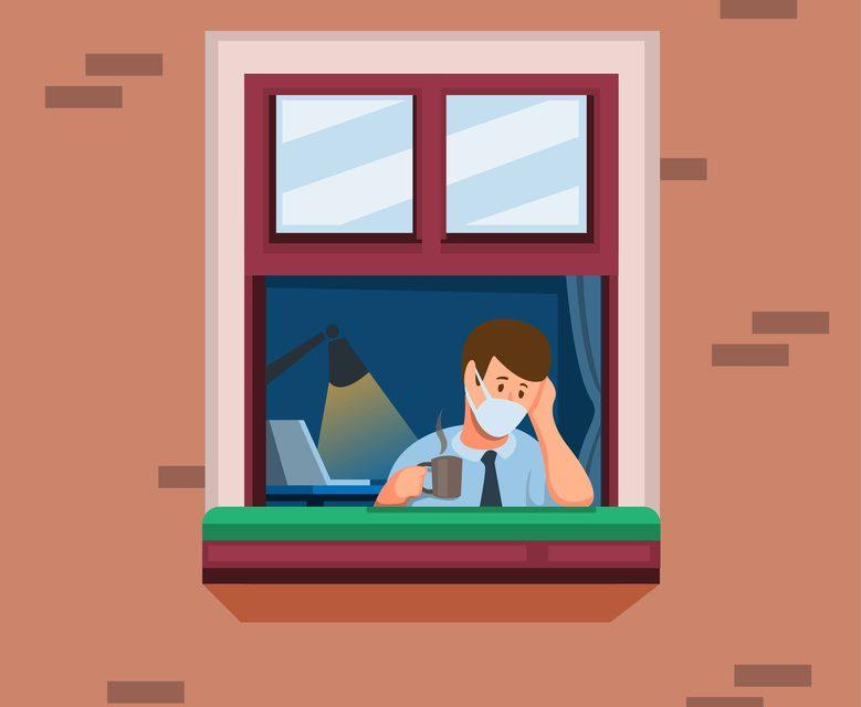 Eenzaamheid door thuiswerk